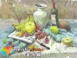 龚永光色彩静物教学-美术高考教程