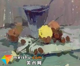 「美术高考」罗凯色彩静物1-杭州凝结画室