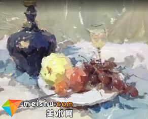 「美术高考」罗凯老师色彩静物-杭州凝结画室