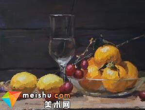 「美术高考」色彩静物示范-厦门达鸿画室