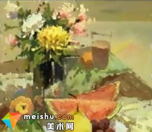 李现鹏花卉水果水粉静物(共两集)-美术高考教程