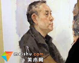 潘付伟色彩头像-美术高考视频教学