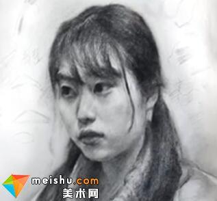 「美术高考」素描头像教学2-杭州凝结画室