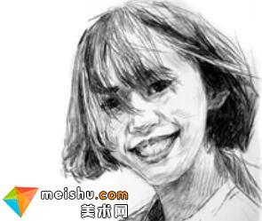 「美术高考」速写人物代古拉网红-杭州凝结画室