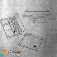 水粉画工具材料(二)