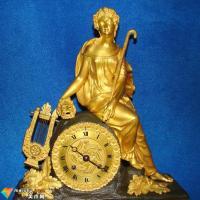 西洋钟雕塑的主要艺术题材(古董鉴赏)
