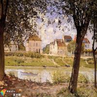 印象派画家西斯莱风景作品特点的研究
