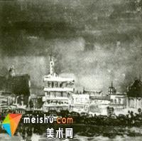 中国水彩画图史——首届全国水彩、速写展[图]